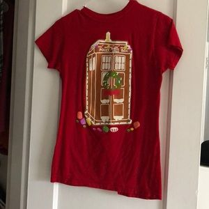 Doctor Who TARDIS Christmas Shirt